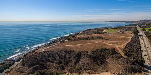 Malibu CA land sale